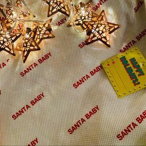 "M- Forever 21 ""Santa Baby"" long sleeve"